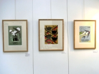 swift, wren and viva lewes screenprints