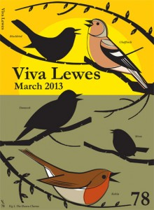 Viva Lewes March 2013 Cover