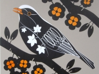 Blackbird Screenprint
