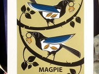 Ltd Edition Magpie Giclée